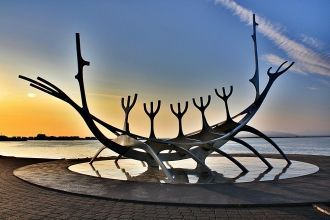 Cкульптура «Sun Voyager».