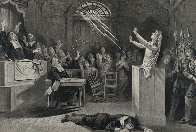 salem witch trials of 1692 and On october 29, 1692 the governor of colonial massachusetts disbanded the special court used to try suspected witches almanac: the salem witch trials share tweet.