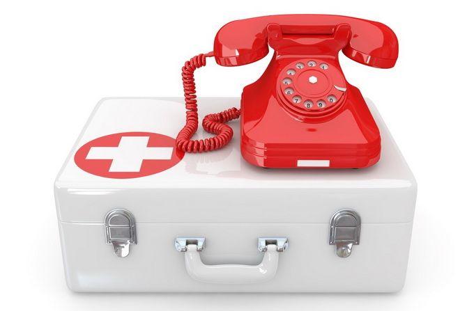 Вызов врача скорой помощи на дом