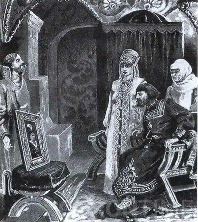 Картинки по запросу софья палеолог и иван 3