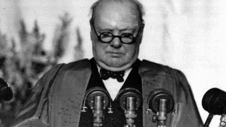 Image result for churchill iron curtain speech